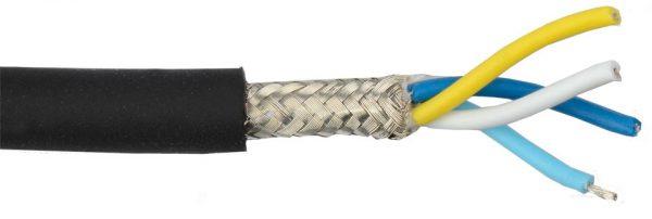 Экранированный кабель с оплеткой