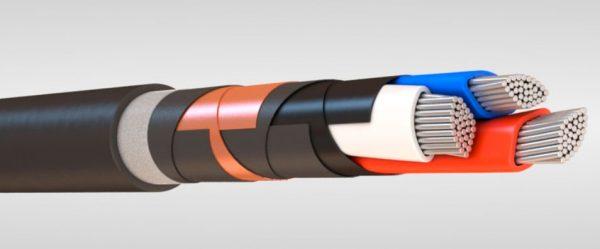 Силовой кабель с ПВХ изоляцией