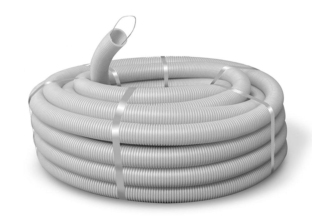 кабельная труба гофрированная пвх с зондом